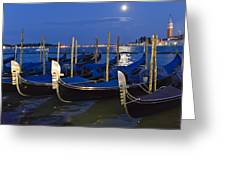 Good Night Venice Greeting Card