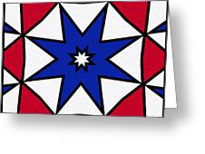 Good Old Red White And Blue 2 Greeting Card