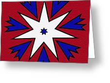 Good Old Red White And Blue Greeting Card