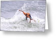 Good Surf Greeting Card