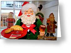 Good Time Santa Greeting Card