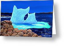 Goodbye Greenland Greeting Card