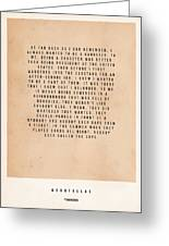 Goodfellas Greeting Card