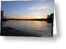 Goodnight Sun Greeting Card