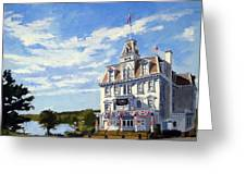 Goodspeed Opera House East Haddam Connecticut Greeting Card
