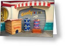 Goofy Water Disneyland Toontown Greeting Card