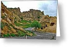 Goreme Open Air Musuem With Six Early Christian Churches In Capp Greeting Card