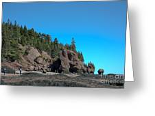 Gorgeous Rock Formations Greeting Card