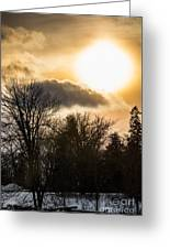 Gorgeous Sky Greeting Card