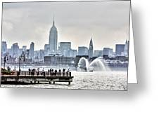 Gotham Harbor Greeting Card