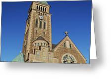 Gothenburg Church 07 Greeting Card