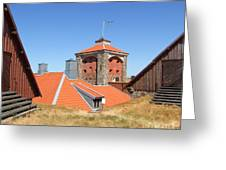 Gothenburg Fortress 05 Greeting Card