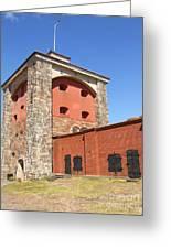 Gothenburg Fortress 06 Greeting Card