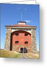 Gothenburg Fortress 07 Greeting Card