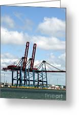 Gothenburg Harbour 08 Greeting Card