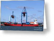 Gothenburg Harbour 09 Greeting Card