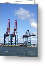 Gothenburg Harbour 12 Greeting Card