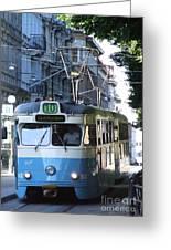 Gothenburg Tram 01 Greeting Card