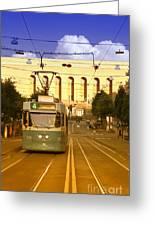 Gothenburg Tram 04 Greeting Card