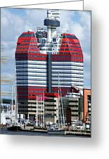 Gothenburg Utkiken Tower 06 Greeting Card