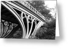 Gothic Bridge Design Greeting Card