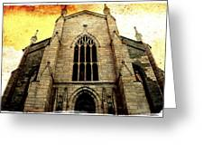 Gothic Church Cathedral Photograph Greeting Card
