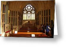 Gothic Church Kylemore Abbey Greeting Card