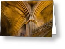 Gothic Impression Greeting Card
