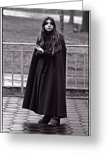 Gothic Miss Greeting Card