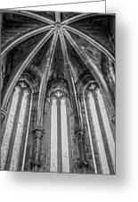 Gothic Monastery Greeting Card