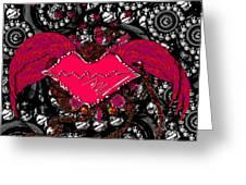 Gothic Night Greeting Card