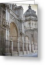 Gothic Splendor Of Spain Greeting Card