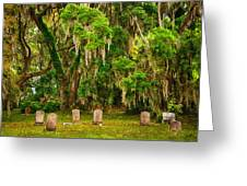 Gould's Cemetery Greeting Card