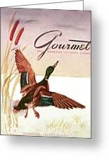 Gourmet Cover Of A Goose Greeting Card