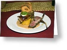 Gourmet Dinner Greeting Card