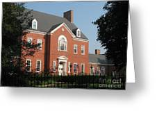 Governor House Annapolis Greeting Card