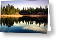 Grace Lake Northern California Greeting Card