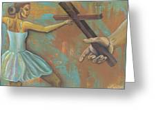 'grace Was Given' Greeting Card