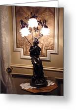 Graceful Lamp Greeting Card