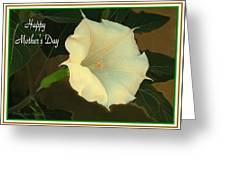 Graceful Moonflower - Happy Mother's Day Greeting Card