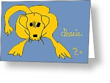 Gracie 1 Greeting Card by Anita Dale Livaditis