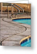 Gracious Curves Palm Springs Greeting Card
