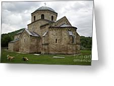 Gradac Monastery Greeting Card