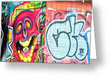 Graffiti 12 Greeting Card