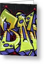 Graffiti 22 Greeting Card