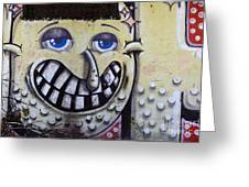 Graffiti Art Buenos Aires 1 Greeting Card