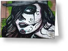 Graffiti Art Curitiba Brazil 21 Greeting Card by Bob Christopher