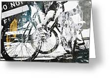 Graffiti Bikes Greeting Card