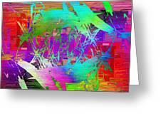 Graffiti Cubed 2 Greeting Card
