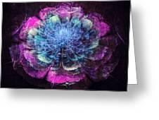 Graffiti Floral Greeting Card